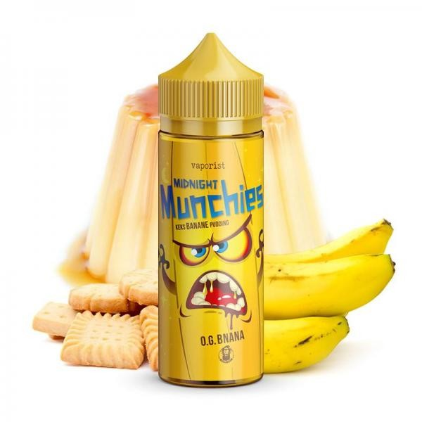 VAPORIST - Liquid O.G. Bnana - Midnight Munchies 100ml/120ml