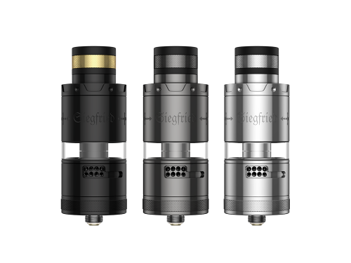 Vapefly Siegfried RTA Clearomizer Set Farbvarianten