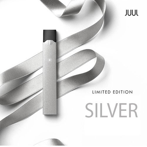 Juul E-Zigarette Limited Edition Silver Kit (ohne Pod)