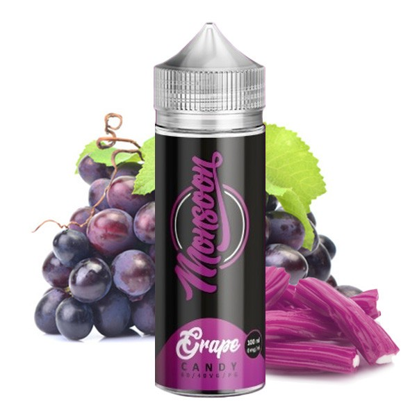 Monsoon GRAPE CANDY 100ml OVERDOSED