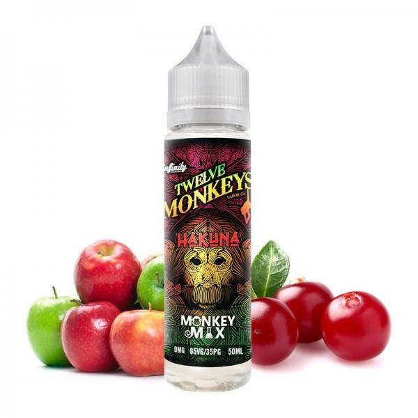 Twelve Monkeys Liquid Hakuna 50ml/60ml