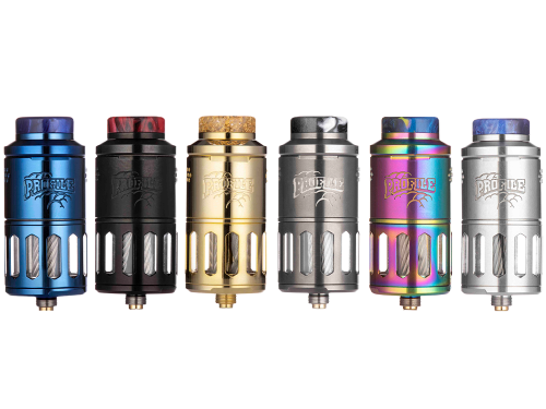 Wotofo Profile RDTA Clearomizer Set Farbvarianten